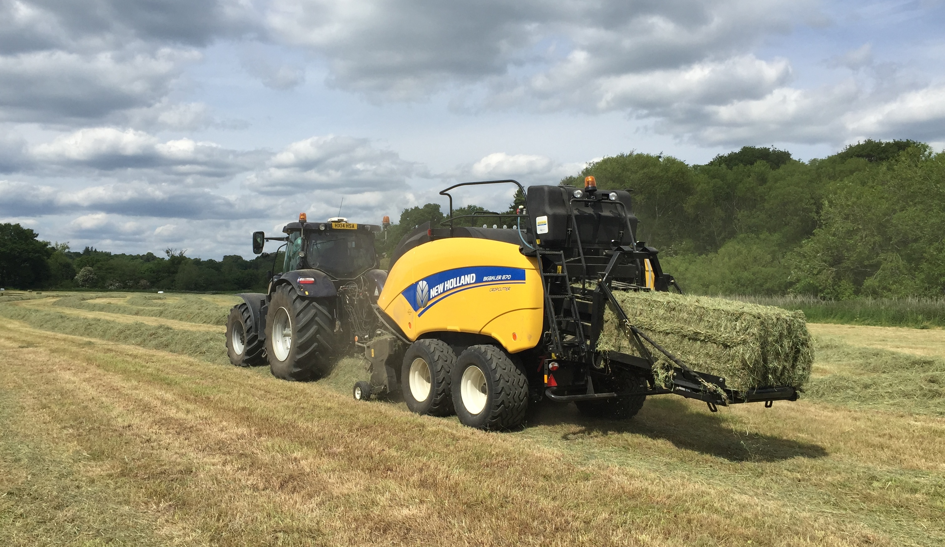 New Holland CropSaver
