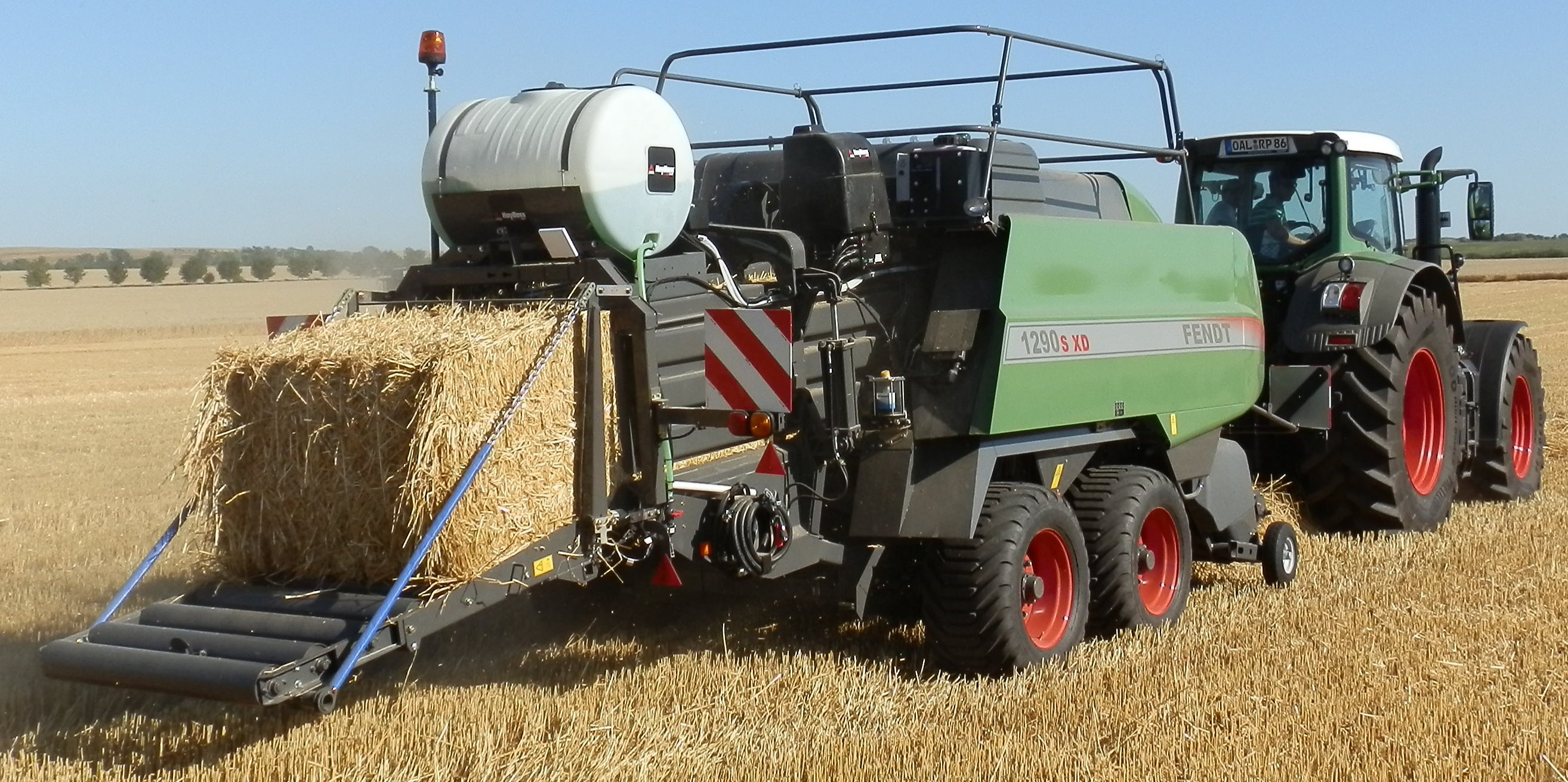 Fendt large square baler
